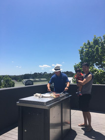 BBQ party at a weekend