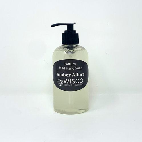 Amber Allure, Natural & Mild Hand Soap