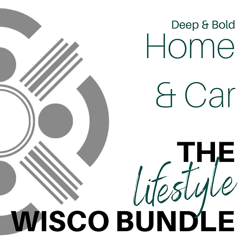 Deep and Bold Home & Car Wisco Lifestyle Bundle