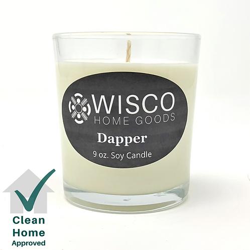 Dapper 9 oz. Candle