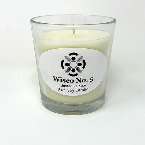 Wisco No. 5 Soy Candle