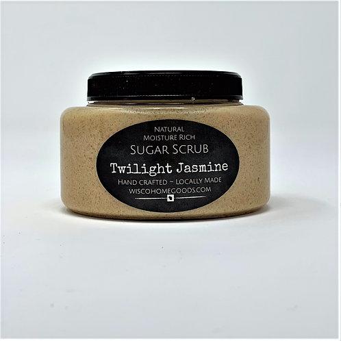 Natural Moisture Rich Sugar Scrub ~ Twilight Jasmine