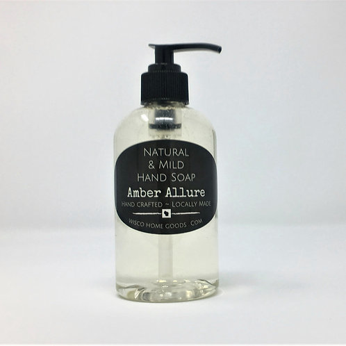 Natural & Mild Hand Soap ~ Amber Allure