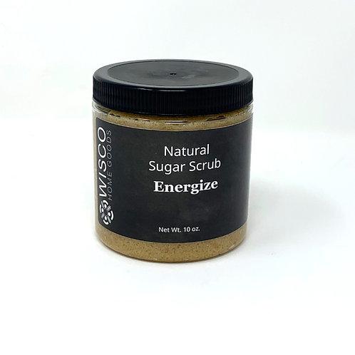 Energize, Natural Moisture Rich Sugar Scrub