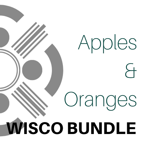 Apple & Orange Wisco Bundle