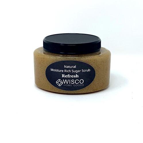 Refresh, Natural Moisture Rich Sugar Scrub