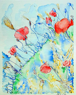 POPPIES IN DANCE