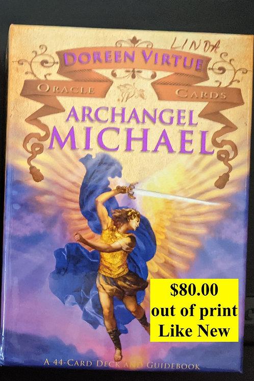 Archangel Michael  oracle cards - Doreen Virtue -