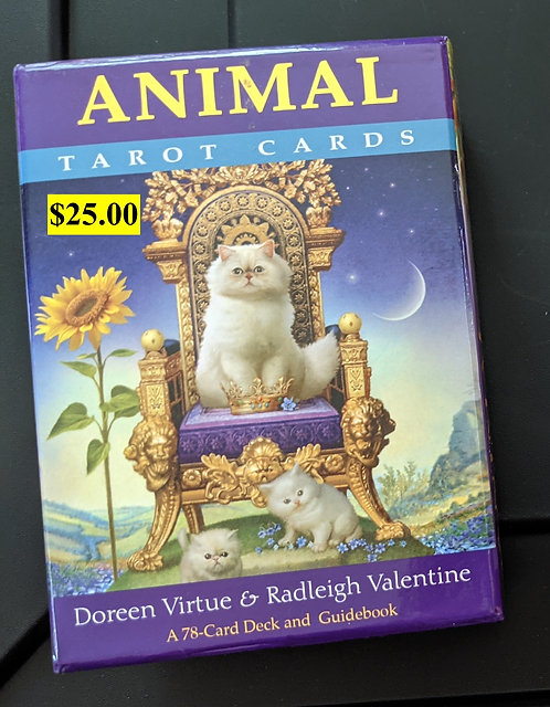 Animal Tarot Cards - Doreen Virtue / Radleigh Valentine