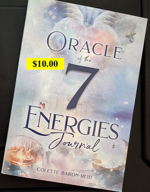 copy of Oracle of the 7 - Journal book - Colette Baron-Reid