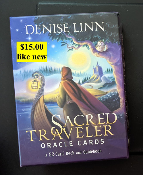 Sacred Traveler - oracle card deck - Denise Linn