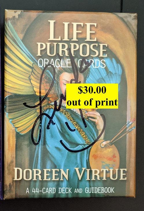 Life Purpose oracle cards - Doreen Virtue -