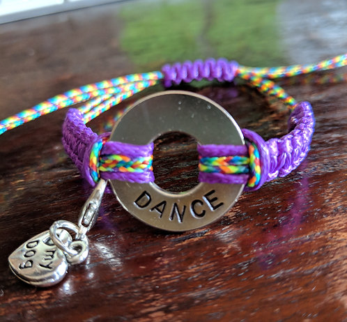 What is Your Word - Knotted Bracelet