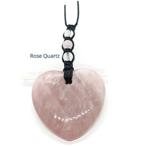 Heart Crystal Adjustable Necklace