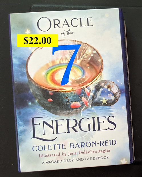 Oracle of the 7 - oracle card deck - Colette Baron-Reid