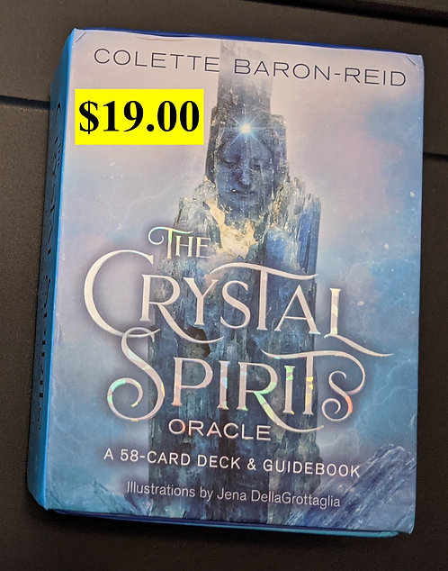 The Crystal Spirits Oracle Deck