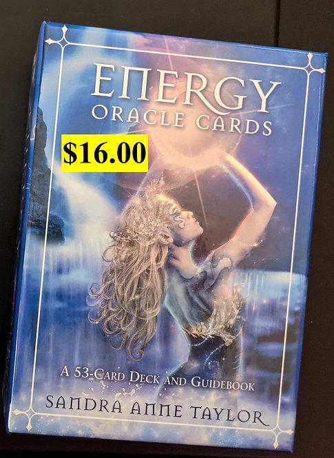 Energy Oracel Cards - Sandra Taylor