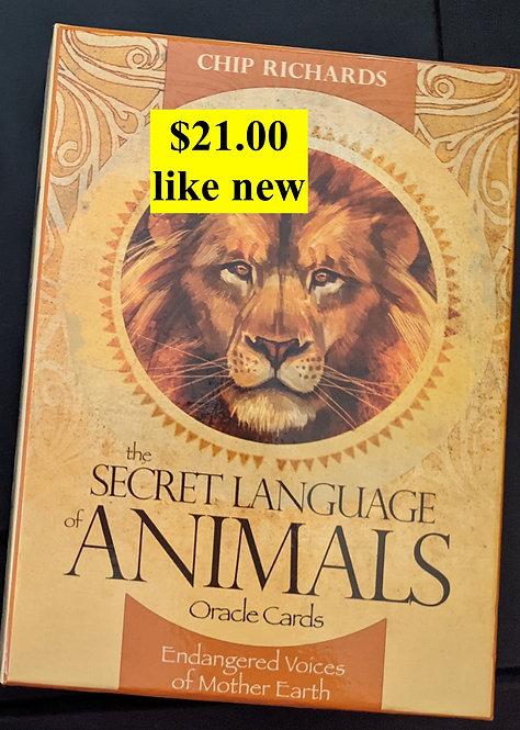 The Secret Language ofAnimals Oracle cards