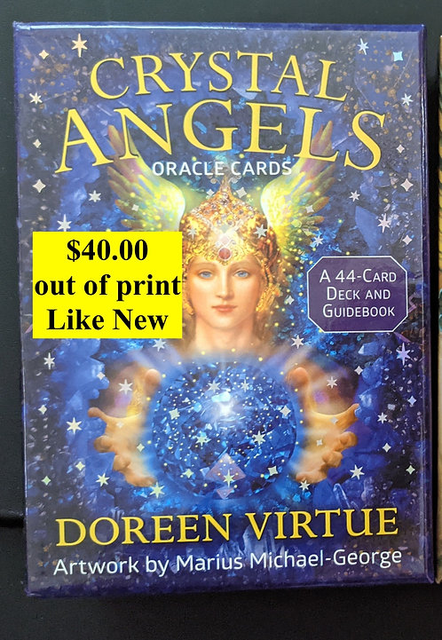 Crystal Angels oracle cards - Doreen Virtue -