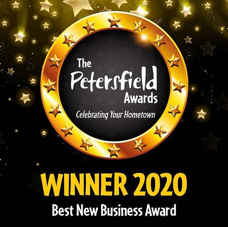 Petersfield Business Award Winner.JPG