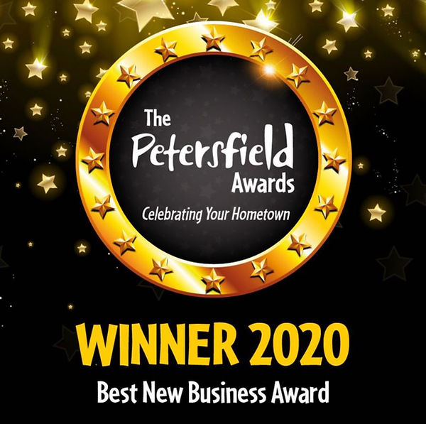 Petersfield Business Award Winner.JPG