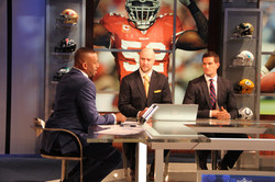 Marc teaching at the NFL Network