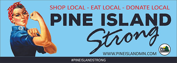 Pine Island Minnesota City Hall Strong