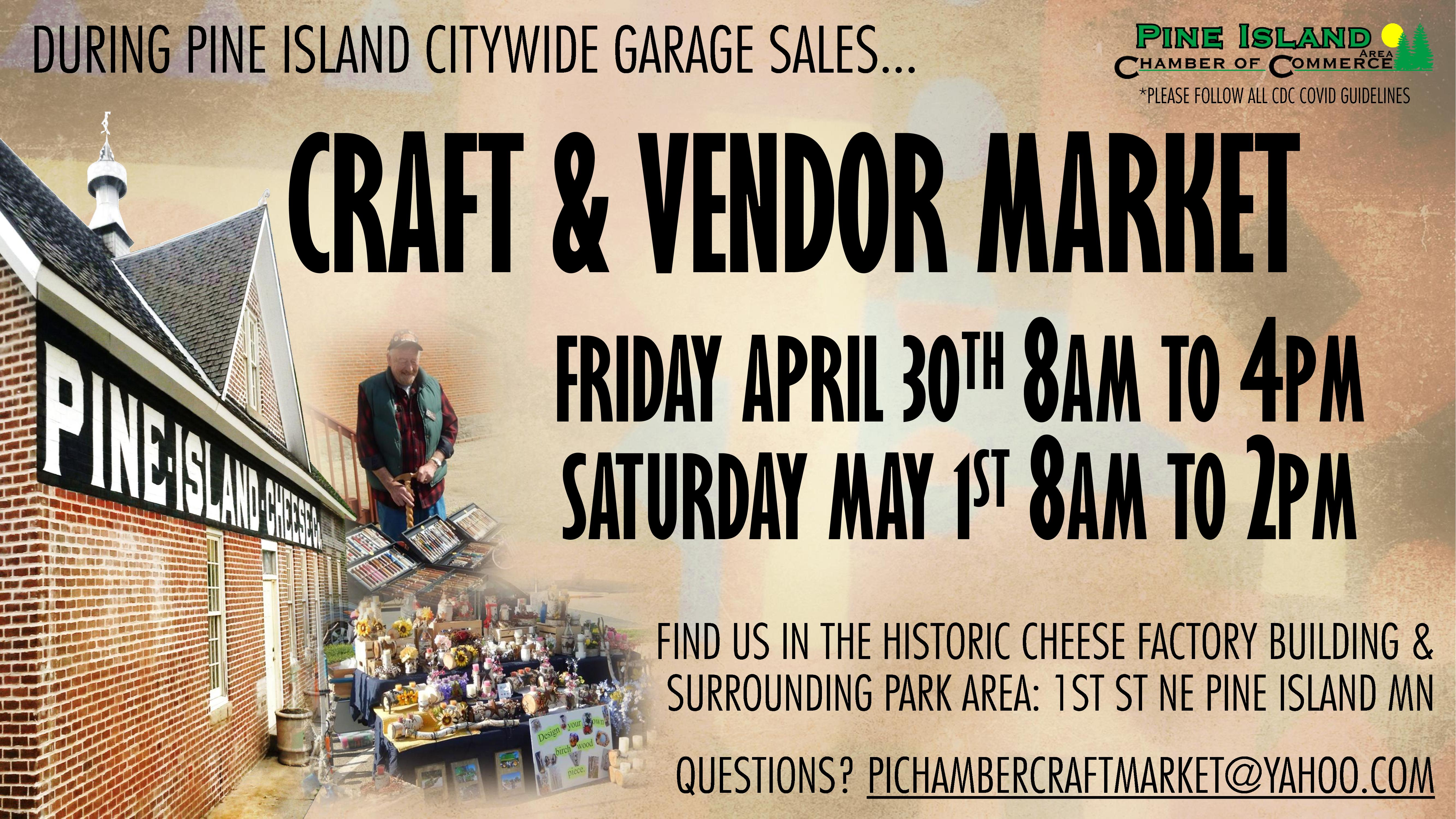 Craft and Vendor Market