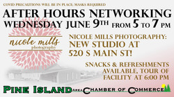 Networking at Nicole Mills Photography