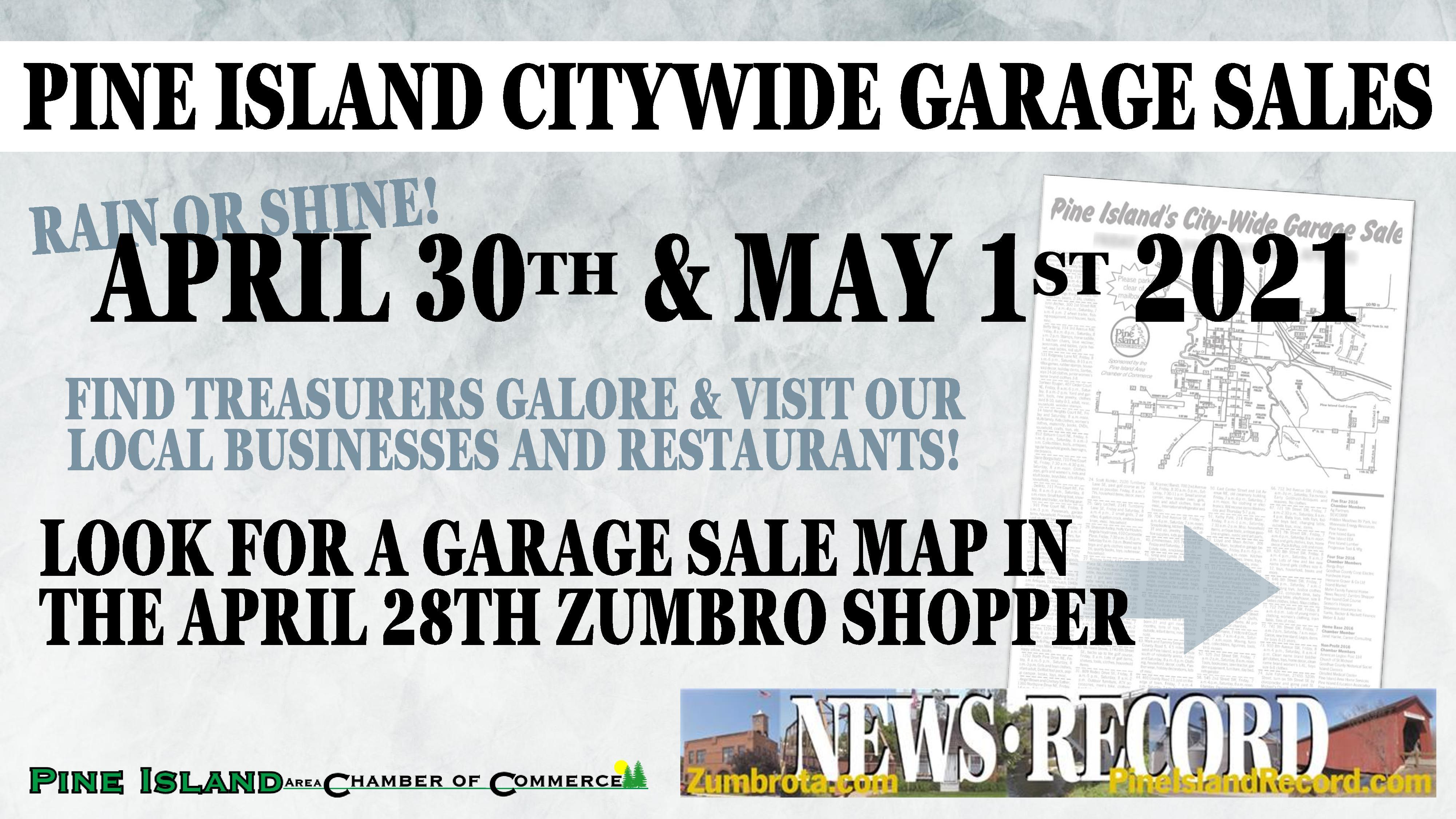 Pine Island Citywide Garage Sales