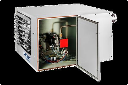 Plynový kondenzační ohřívač vzduchu