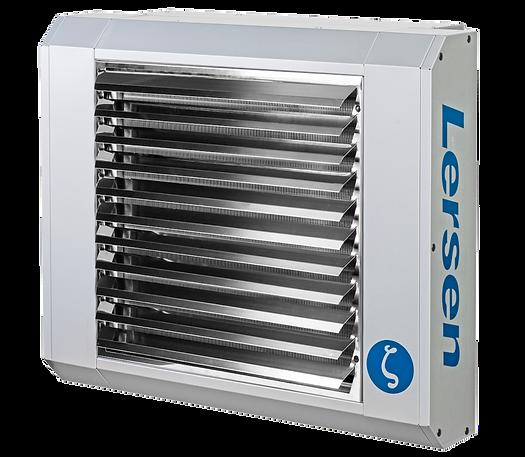Teplovodní ohřívač vzduchu