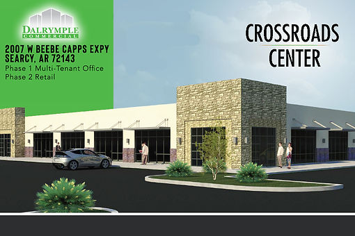 Crossroads Center | Dalrymple Commercial | Available Properties | Commercial Development Management | Real Estate Management | Properties for Lease | Arkansas