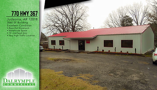 770 HWY 367 Judsonia | Dalrymple Commercial | Available Properties | Commercial Development Management | Real Estate Management | Properties for Lease | Arkansas