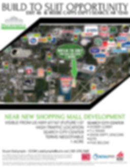 Build to Suit Opportunity | Dalrymple Commercial | Available Properties | Commercial Development Management | Real Estate Management | Properties for Lease | Arkansas