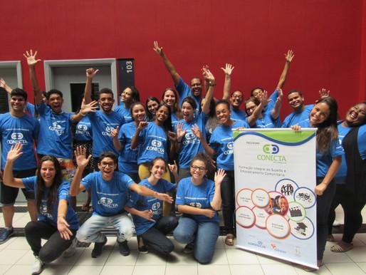 Motivação e animação expressam o espírito da 2ª turma de Qualificação Profissional em Santos/SP