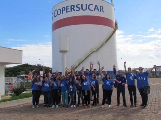 Terminal da Copersucar recebe alunos do Conecta Paulínia