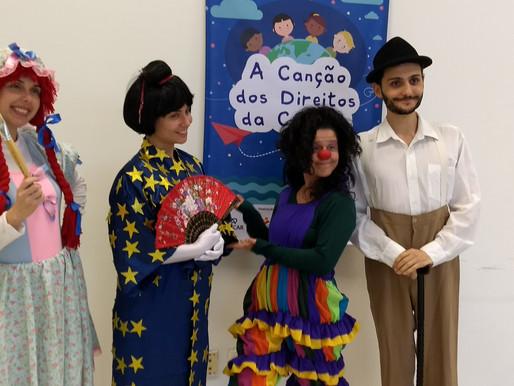 Oficinas teatrais produzem espetáculo que aborda Direitos da Criança em Paulínia