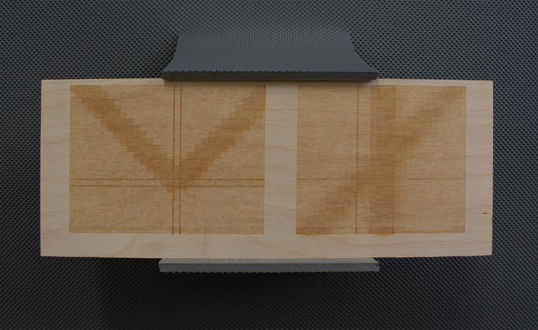 Details of Golden Ratio in Rubber Clamp.