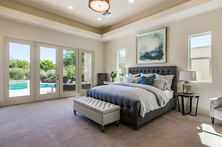 Luxurious Home Staging Bedding with Accent Pillows