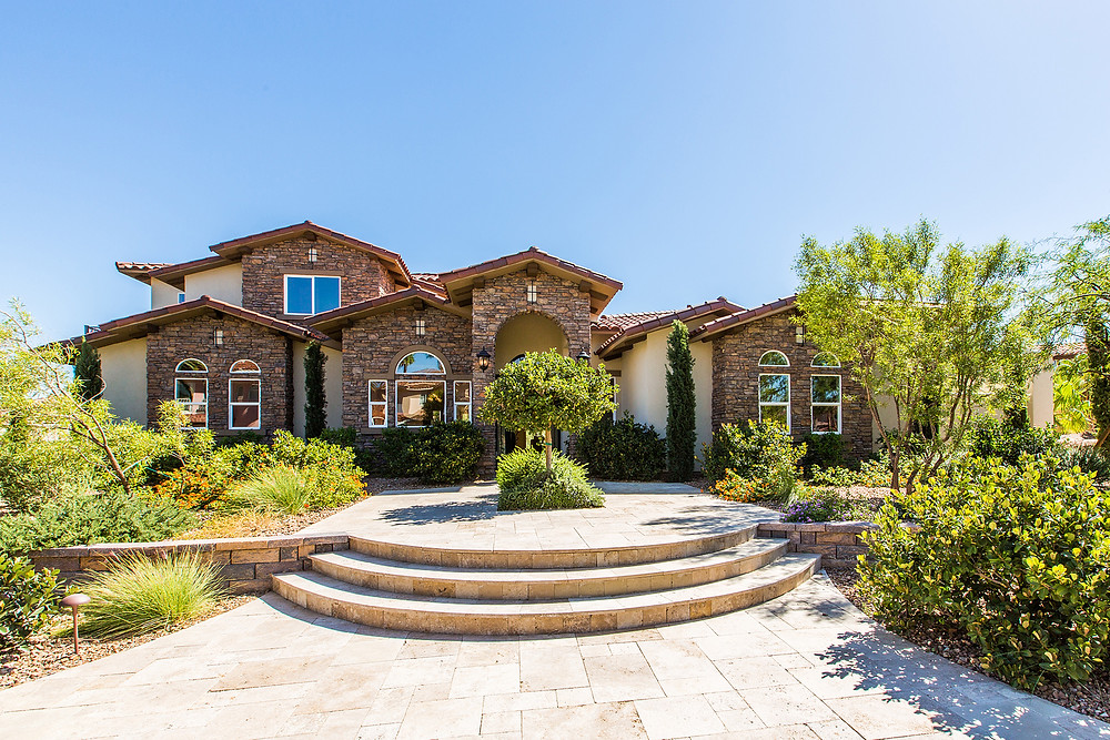 Curb Appeal is paramount to effective luxury home staging design