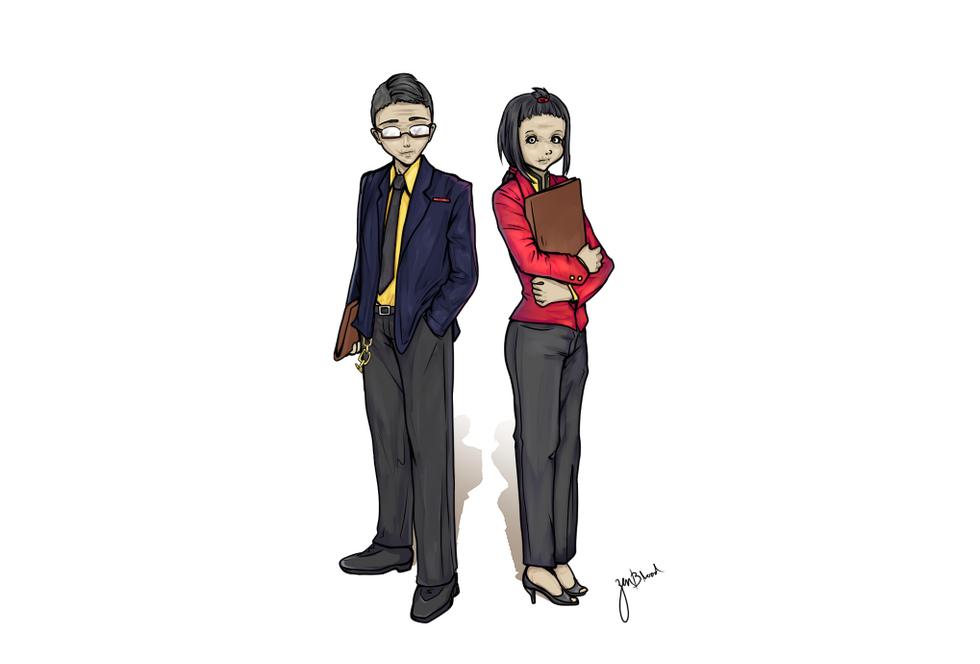 Emilie and Alexander