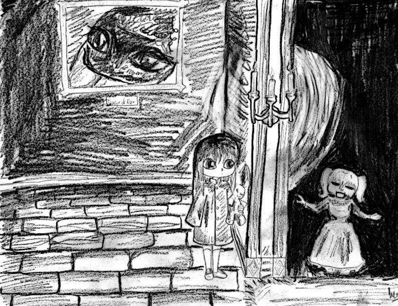 Nevire's Mansion Concept Sketch