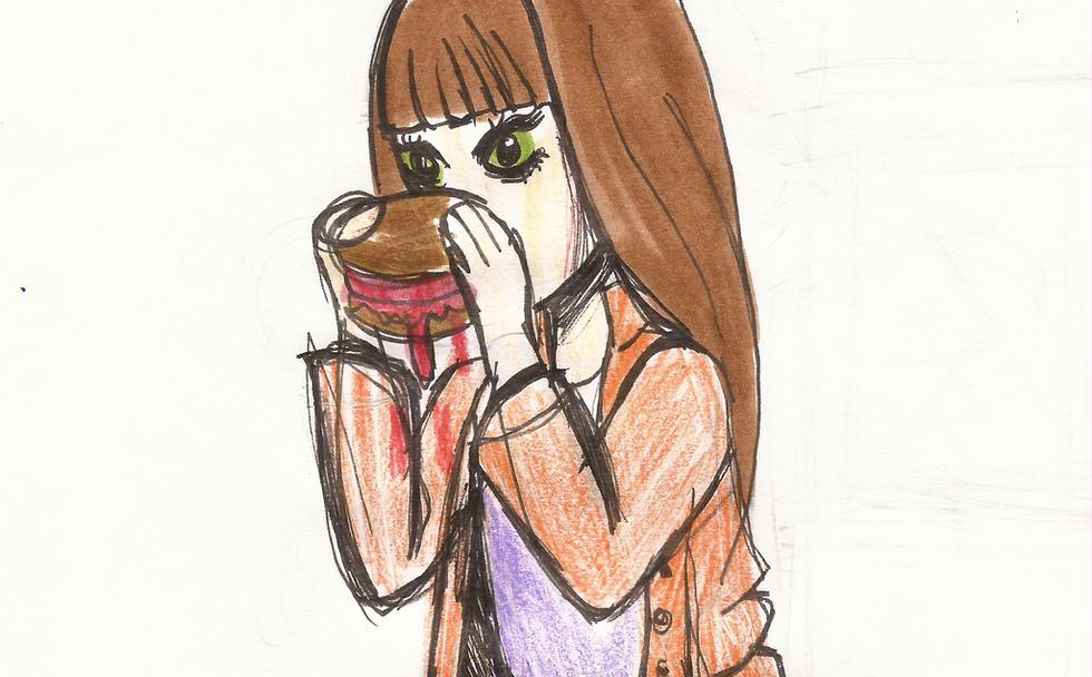Fleshport Protagonist Sketch