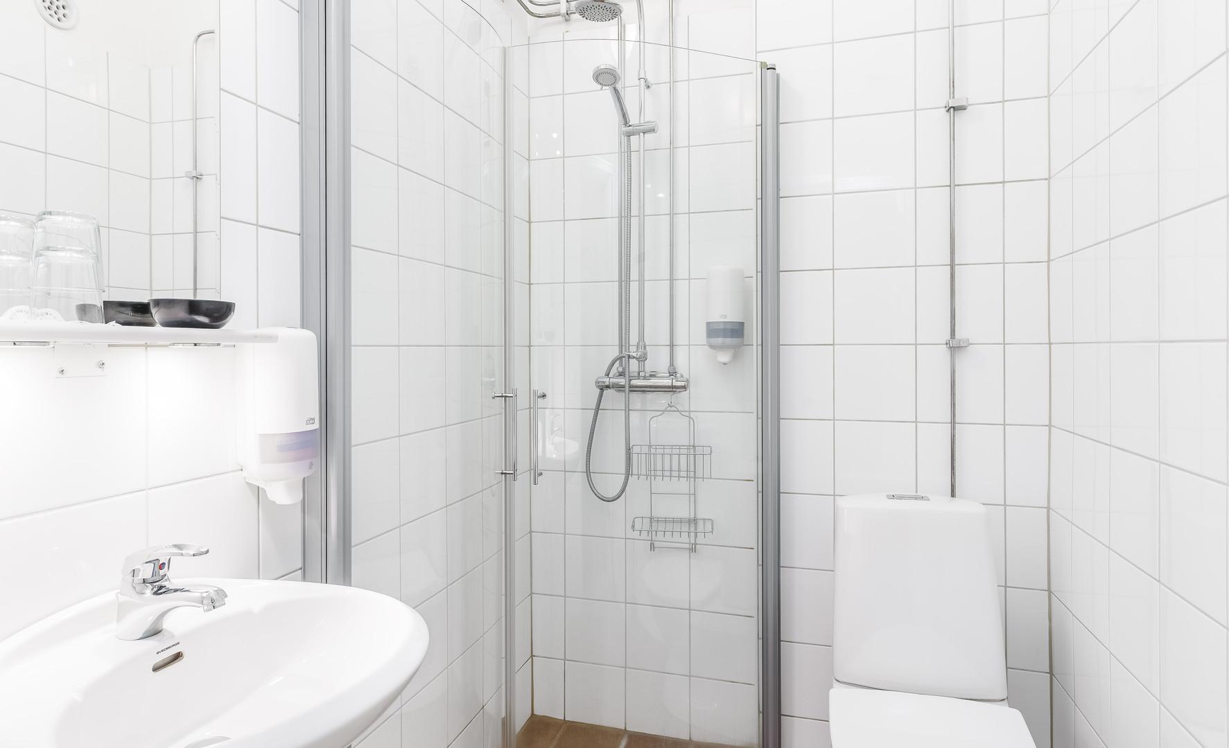 Cell dusch och toalett