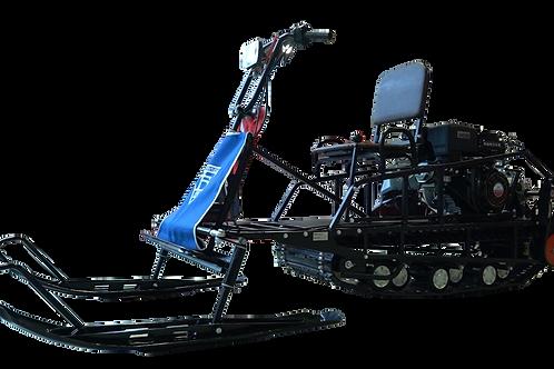 Мотобуксировщик БУРЛАК М ОПТИ-R 15 л.с. + лыжный модуль