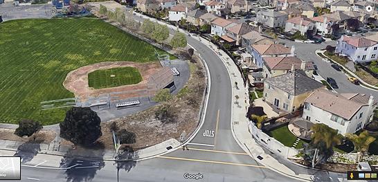 Google Street View school and Silk Wood