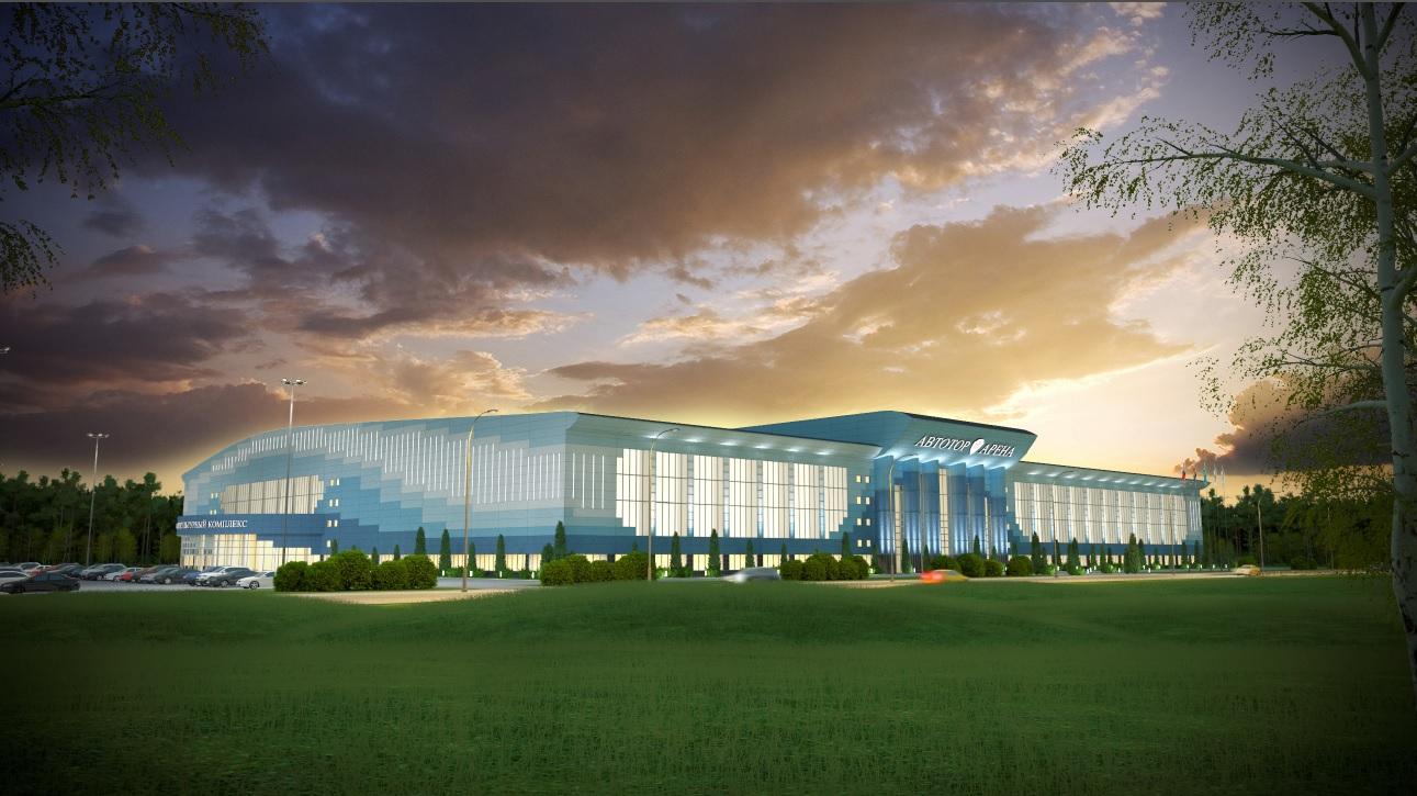 Проект освещения Автотор Арена
