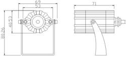 Чертёж PS-ArchSpot-5 1W