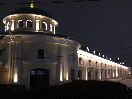 """Архитектурное освещение """"Торговых рядов"""", г. Рязань"""